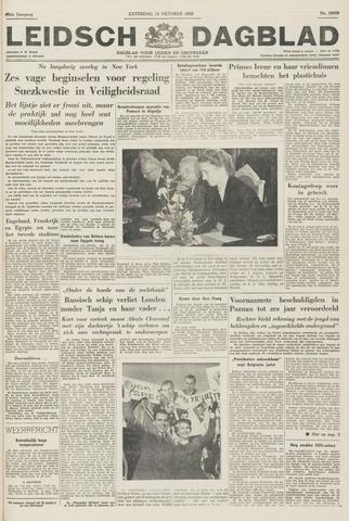 Leidsch Dagblad 1956-10-13