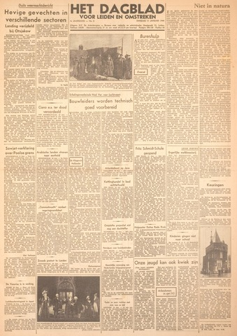 Dagblad voor Leiden en Omstreken 1944-01-11