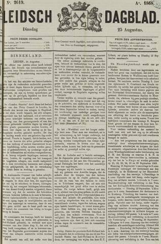 Leidsch Dagblad 1868-08-25