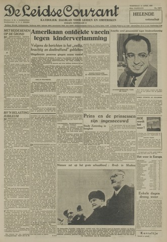 Leidse Courant 1955-04-13