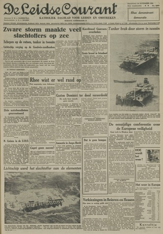 Leidse Courant 1954-11-29