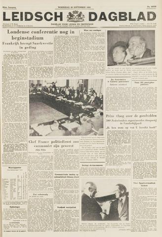Leidsch Dagblad 1954-09-29