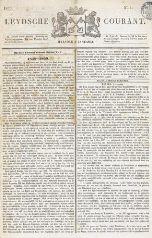 Leydse Courant 1859