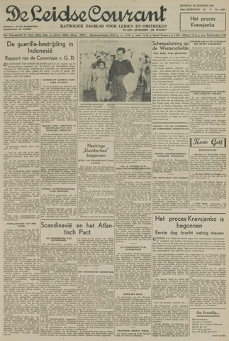 Leidse Courant 1949-01-25