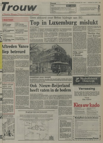 Nieuwe Leidsche Courant 1980-04-29