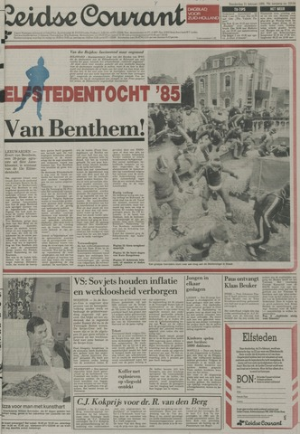 Leidse Courant 1985-02-21