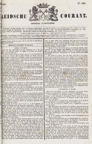 Leydse Courant 1871-11-14