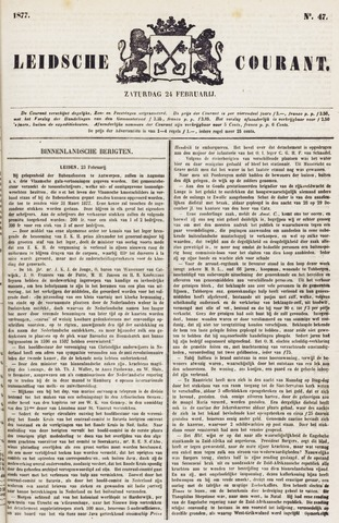 Leydse Courant 1877-02-24