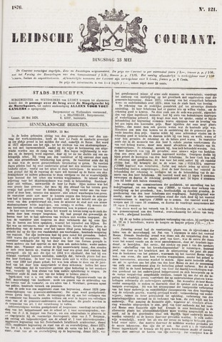 Leydse Courant 1876-05-23
