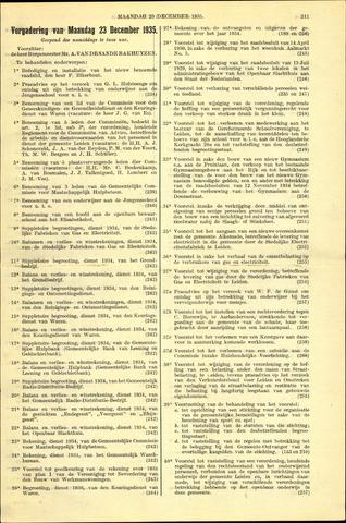 Handelingen van de Raad 1935-12-23