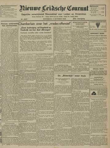 Nieuwe Leidsche Courant 1939-10-04