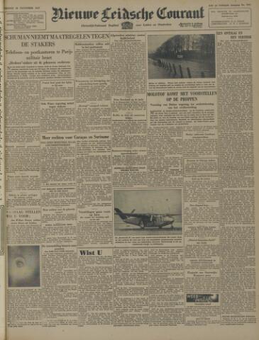 Nieuwe Leidsche Courant 1947-11-28