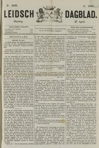 Leidsch Dagblad 1869-04-27