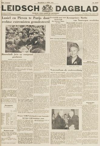 Leidsch Dagblad 1954-04-05