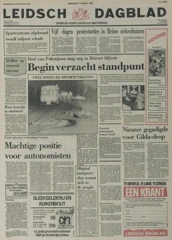 Leidsch Dagblad 1982-08-09