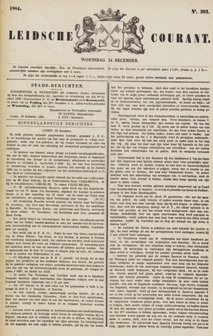 Leydse Courant 1884-12-24