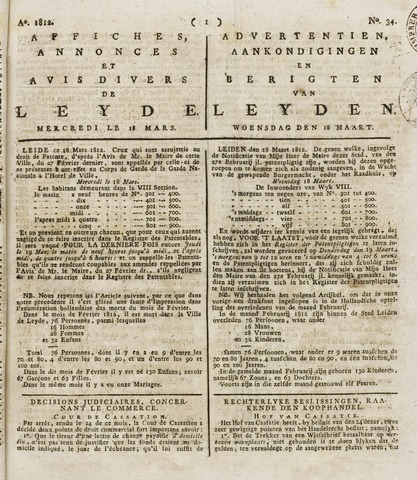 Leydse Courant 1812-03-18