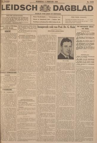 Leidsch Dagblad 1930-02-05