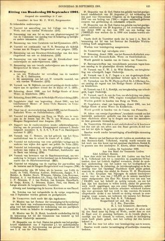 Handelingen van de Raad 1901-09-26