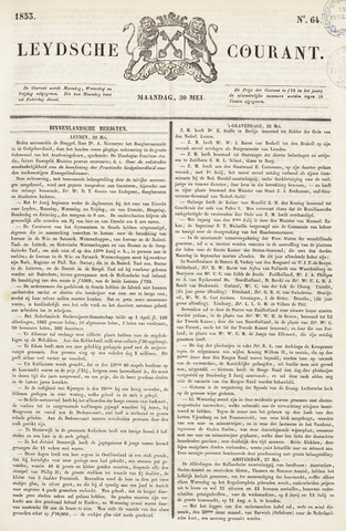 Leydse Courant 1853-05-30