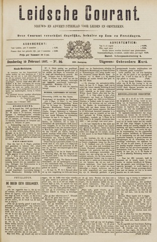 Leydse Courant 1887-02-10