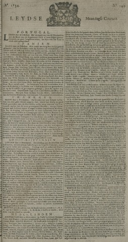 Leydse Courant 1734-11-22