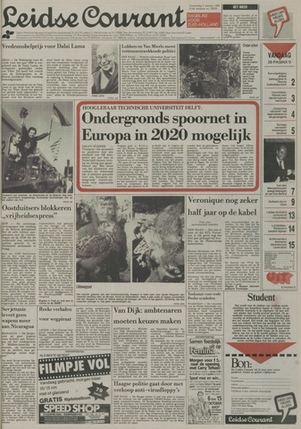 Leidse Courant 1989-10-05