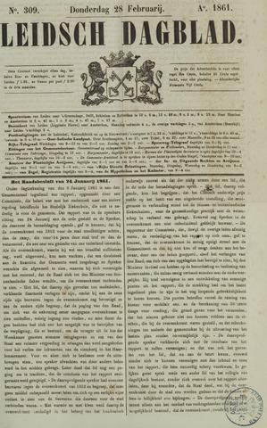 Leidsch Dagblad 1861-02-28