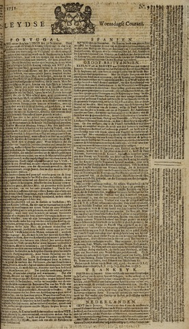 Leydse Courant 1751-01-20
