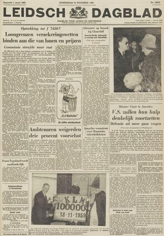 Leidsch Dagblad 1959-11-19