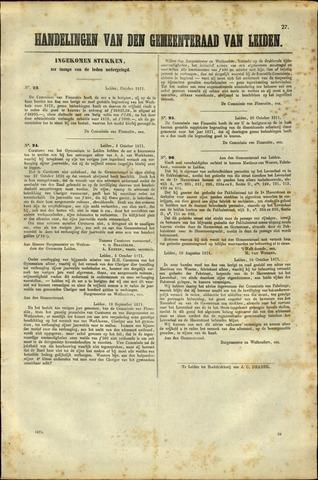 Handelingen van de Raad 1871-10-01