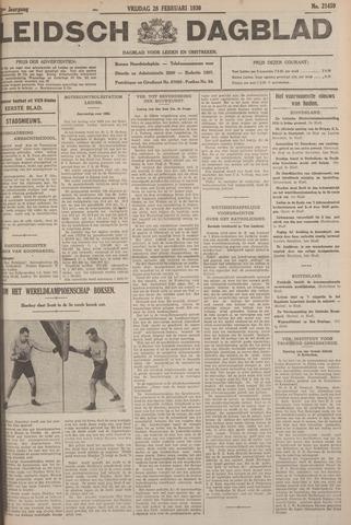 Leidsch Dagblad 1930-02-28