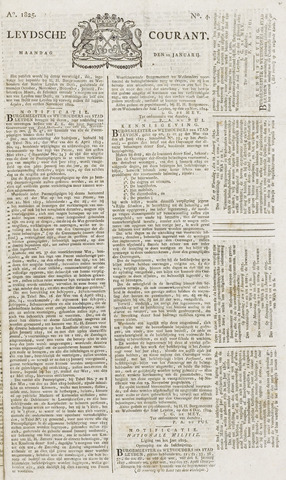 Leydse Courant 1825-01-10