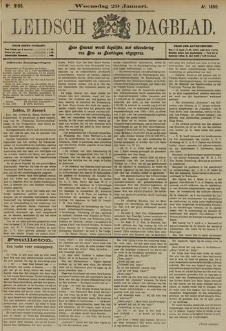 Leidsch Dagblad 1890-01-29