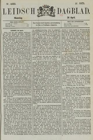Leidsch Dagblad 1875-04-26