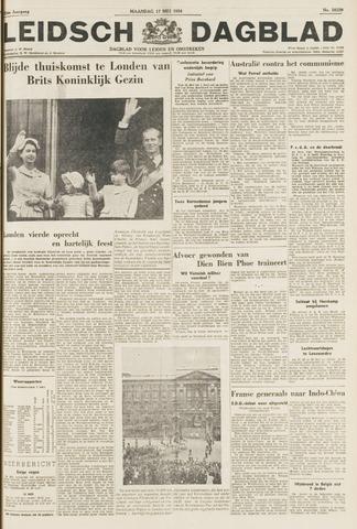Leidsch Dagblad 1954-05-17