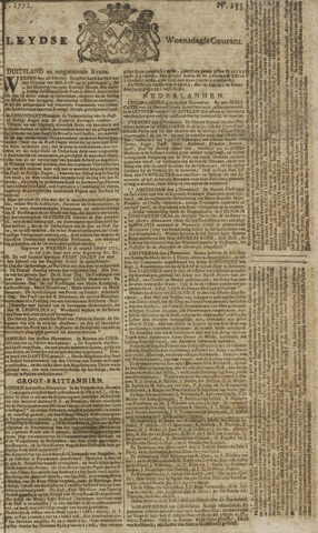 Leydse Courant 1771-11-06