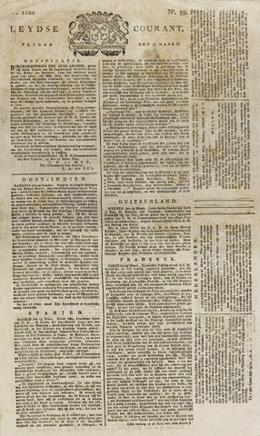 Leydse Courant 1820-03-31