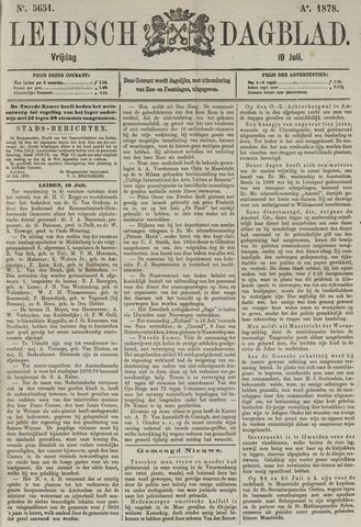 Leidsch Dagblad 1878-07-19