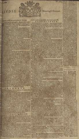 Leydse Courant 1760-09-01