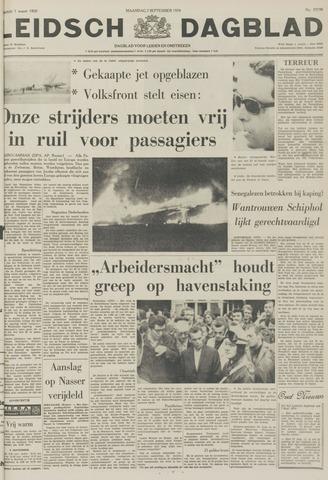 Leidsch Dagblad 1970-09-07