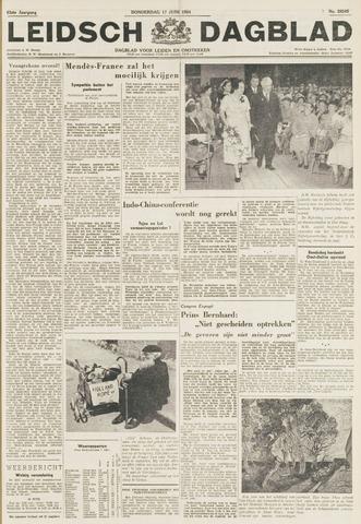 Leidsch Dagblad 1954-06-17