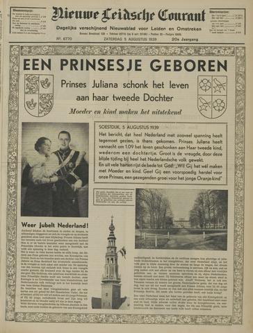 Nieuwe Leidsche Courant 1939-08-05