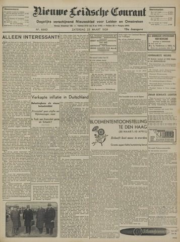 Nieuwe Leidsche Courant 1939-03-25