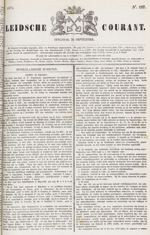 Leydse Courant 1871-09-26