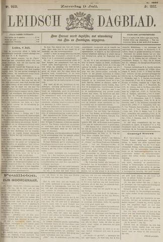 Leidsch Dagblad 1892-07-09