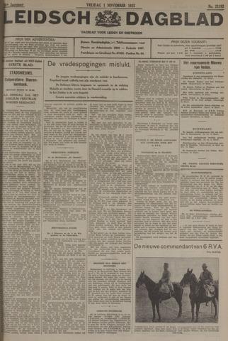 Leidsch Dagblad 1935-11-01