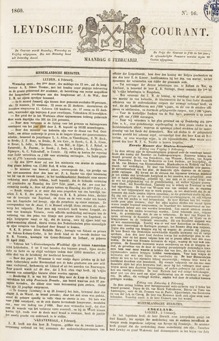 Leydse Courant 1860-02-06