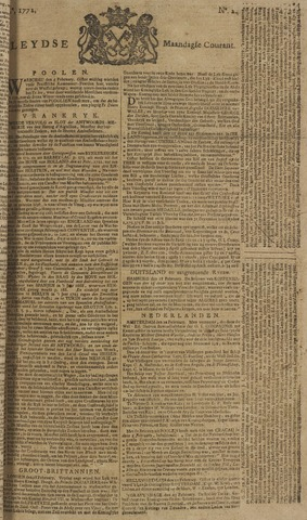 Leydse Courant 1772-02-24