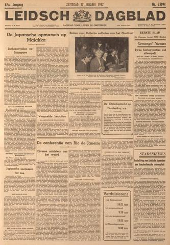 Leidsch Dagblad 1942-01-17